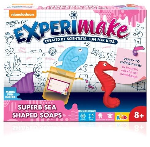 Addo, ExperiMake, fabryka mydełek, zestaw naukowy