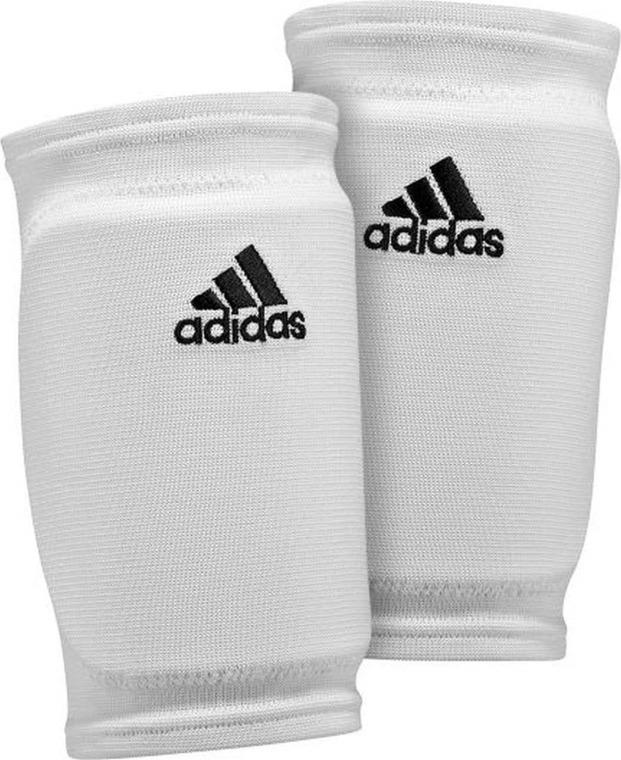 Adidas, nakolanniki siatkarskie, białe, rozmiar S/M