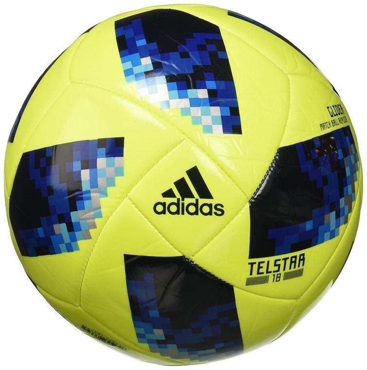 Adidas, oficjalna piłka Piłkarskich Mistrzostw Świata 2018, zielono-niebieska