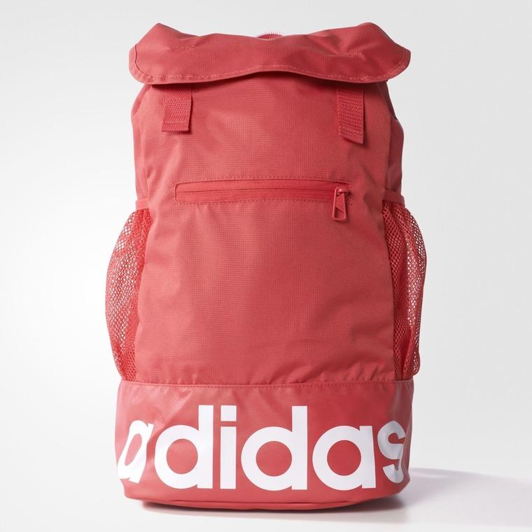 Adidas, plecak, czerwony