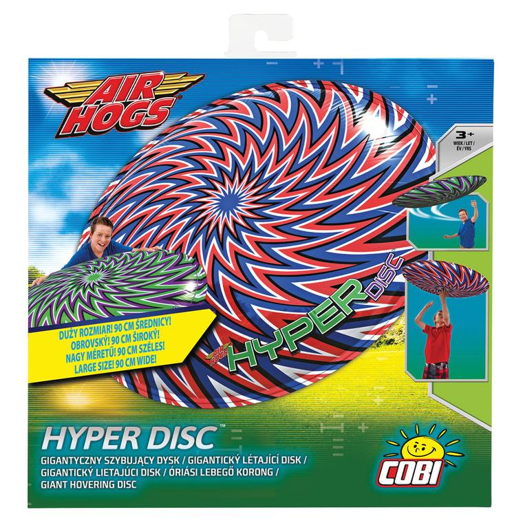 Air Hogs, Hyper Disc, latający dysk, czerwono-niebieski