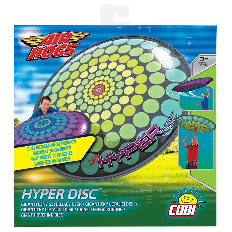 Air Hogs, Hyper Disc, latający dysk, kropki żółte