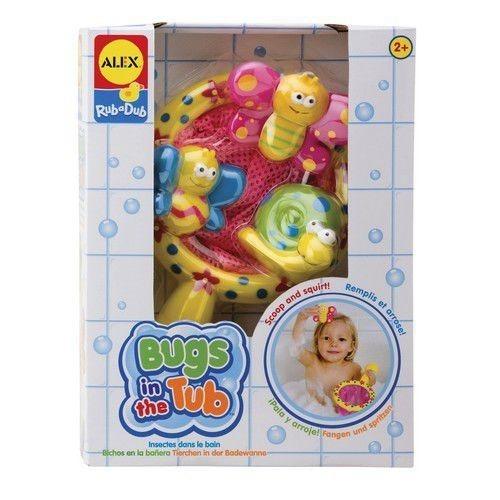 Alex, Robaczki w siatce, zabawka do kąpieli