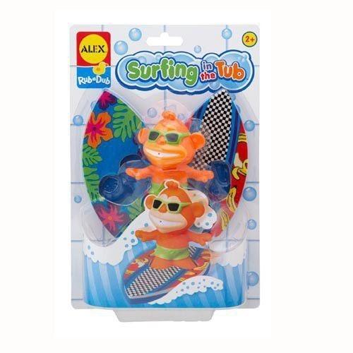 Alex, Surfer do kąpieli, zabawka kąpielowa