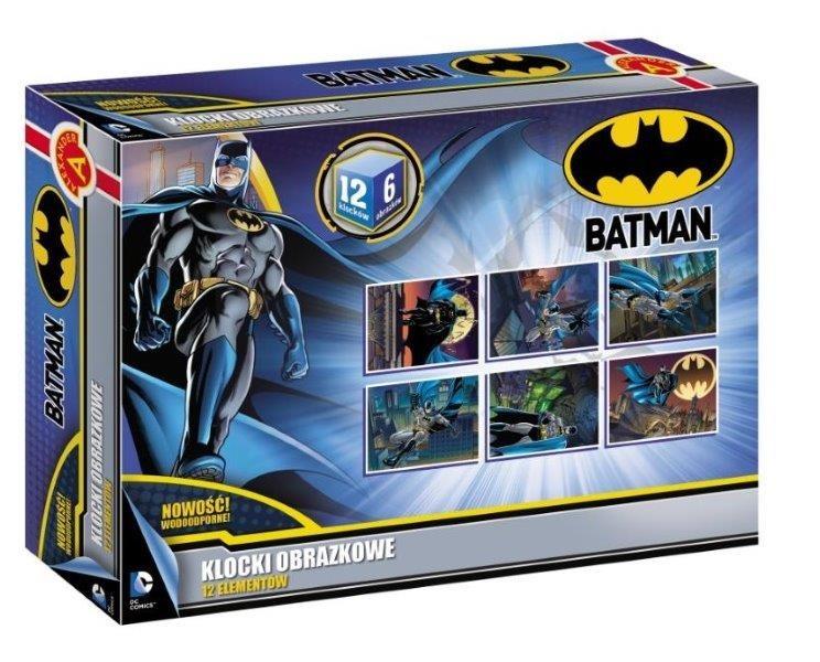 Alexander, Batman, klocki obrazkowe, 12 elementów