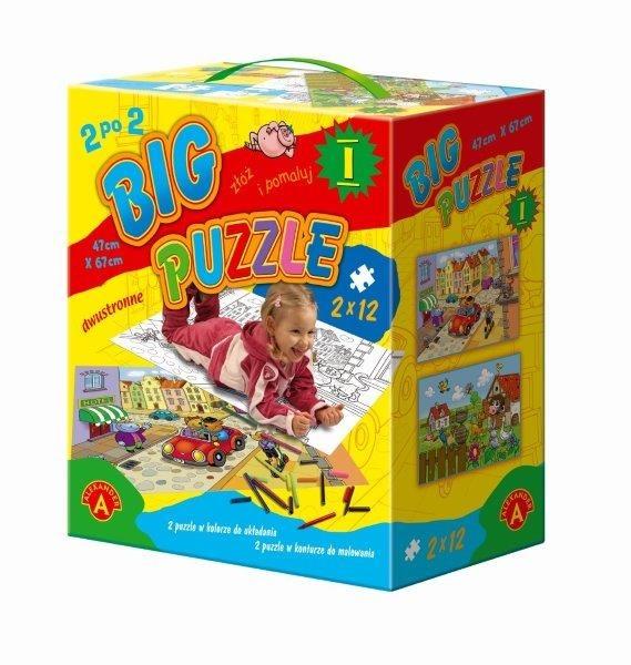 Alexander, Big puzzle, 25 elementów