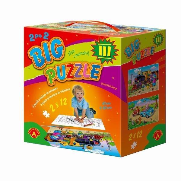 Alexander, Big puzzle III, 25 elementów