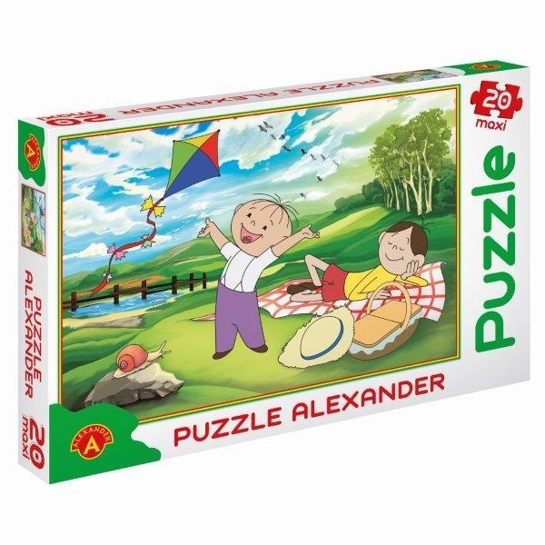 Alexander, Bolek i Lolek, Piknik, puzzle maxi, 20 elementów