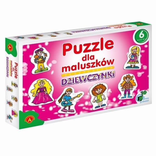 Alexander, Dziewczynki, puzzle dla maluszków, 27 elementów