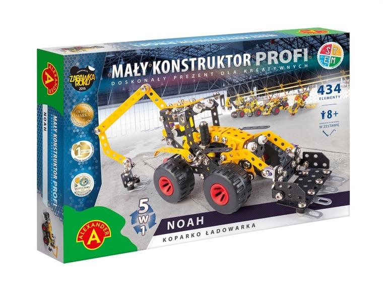 Alexander, Mały Konstruktor, 5w1, Noah, zestaw konstrukcyjny