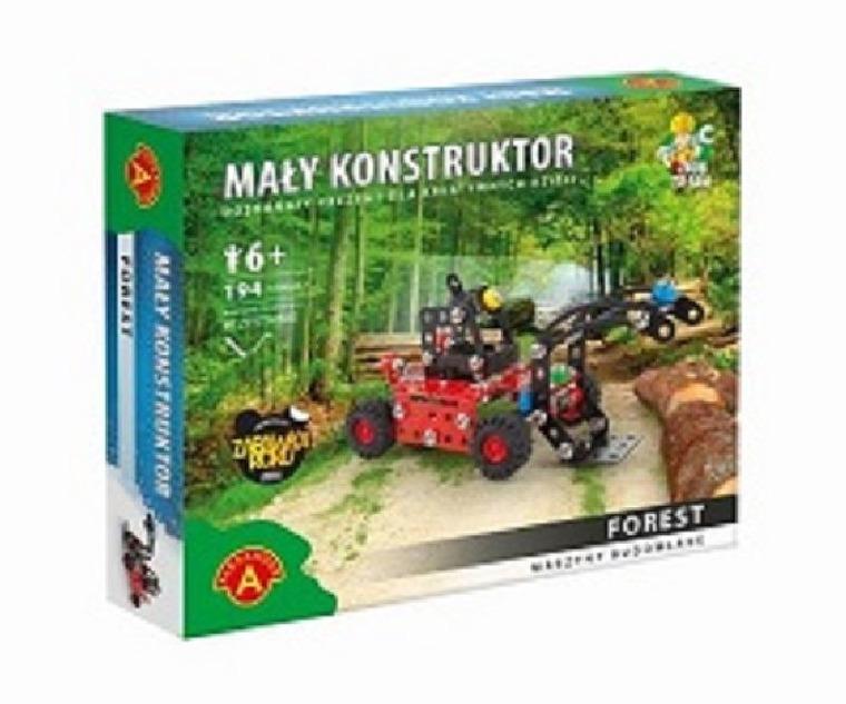 Alexander, Mały konstruktor, Maszyny, Forest, klocki
