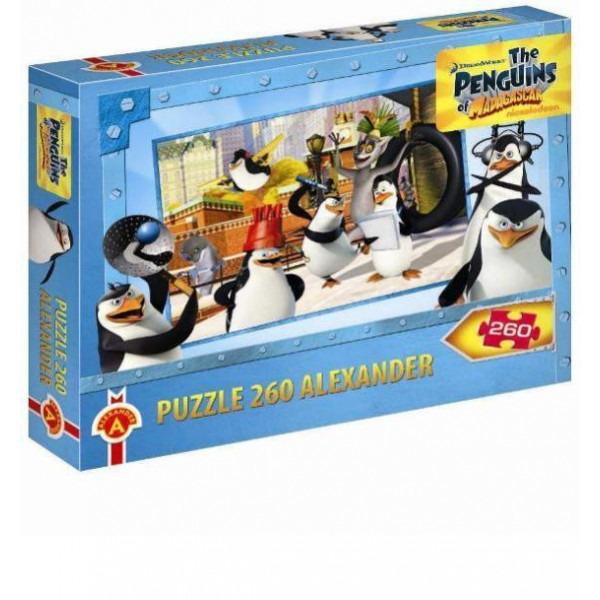 Alexander, Pingwiny z Madagaskaru, puzzle