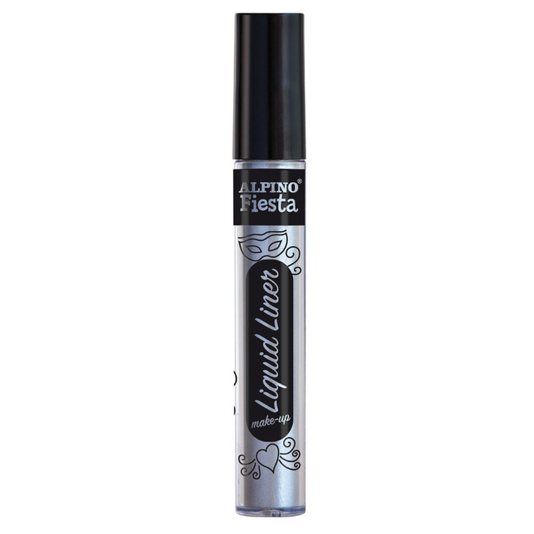 Alpino, farbka do malowania twarzy, srebrna, 6 g