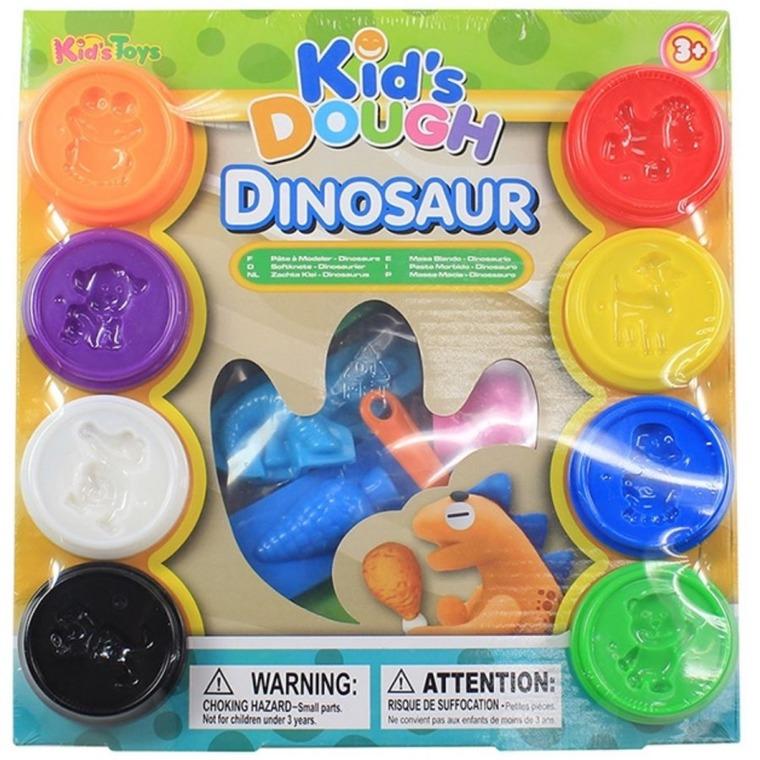Anek dla dzieci, Dinozaury, ciastomasa