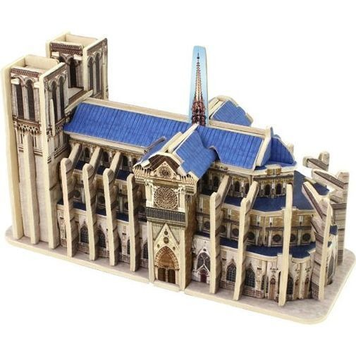Anek Dla Dzieci, Notre Dame de Paris, puzzle 3D, 50 elementów