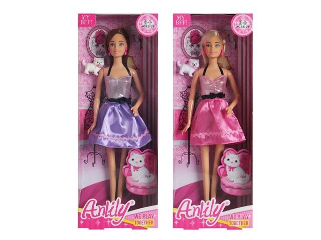 Anlily, lalka z kotkiem, 30 cm