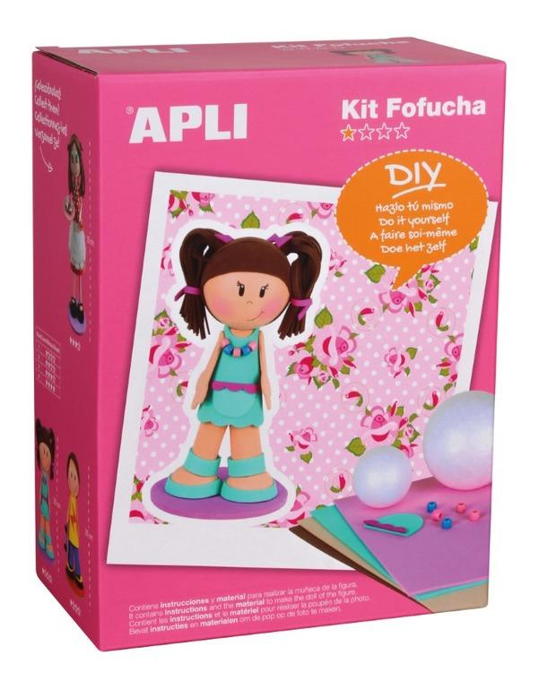 Apli Kids, Fofucha, lalka, dziewczynka, zestaw kreatywny