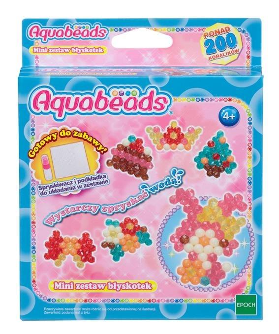 Aquabeads Mini, zestaw błyskotek