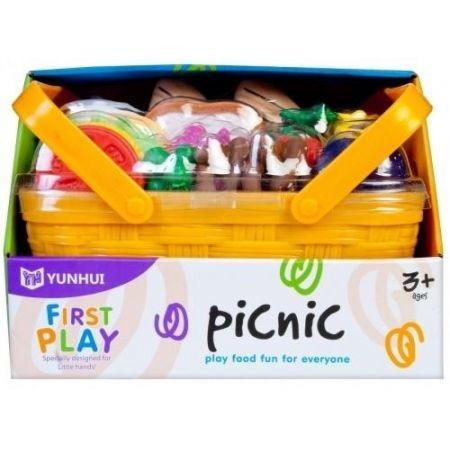 Askato, kosz piknikowy z owocami i warzywami