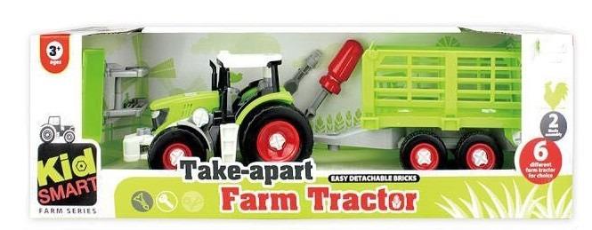 Askato, traktor i przyczepa, zestaw