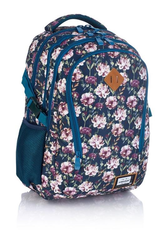 Astra, Head 3, plecak, kwiaty