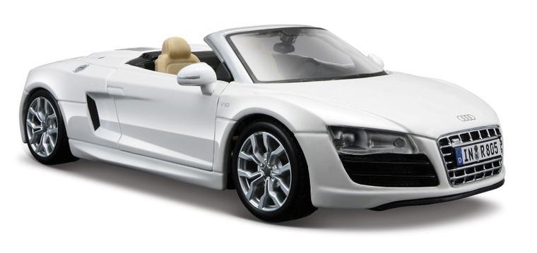 Audi R8 Spyder, pojazd, 1:24
