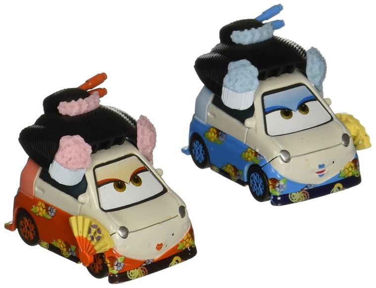 Auta, Okuni i Shigeko, zestaw 2 aut