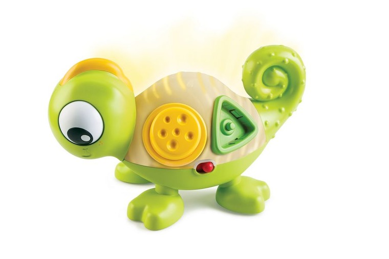 B-Kids, kameleon Leon sensoryczny, zabawka interaktywna