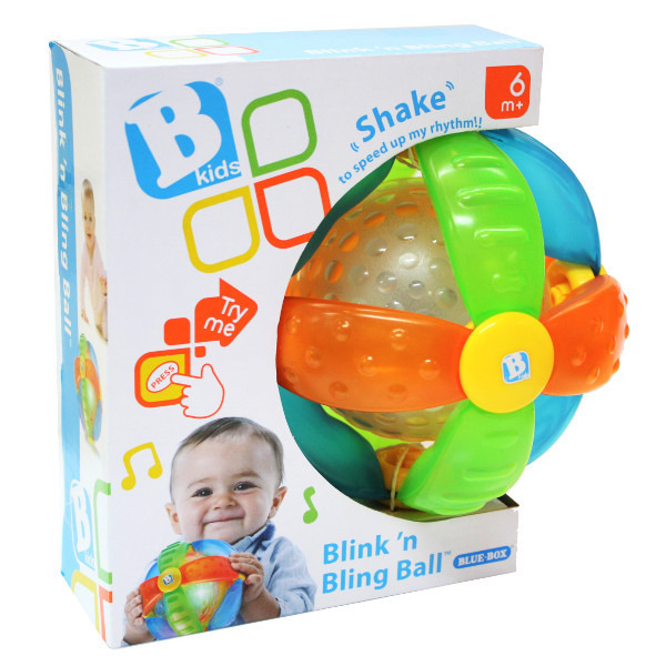 B-Kids, Świecąco-grająca piłeczka, zabawka interaktywna