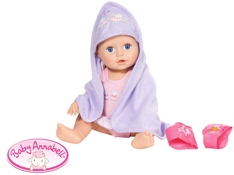 Baby Annabell, Nauka pływania, lalka, 43 cm