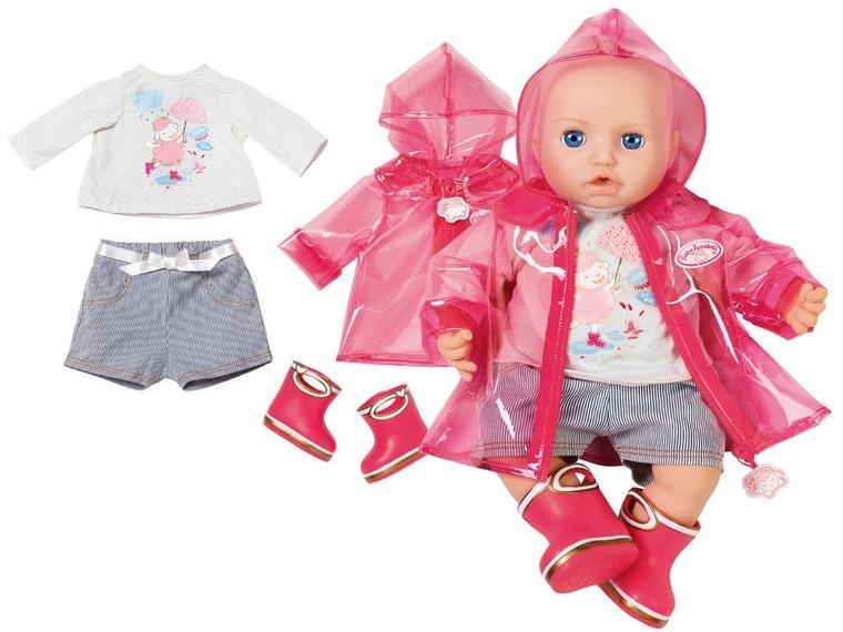 Baby Annabell, ubranko na deszczowe dni dla lalek