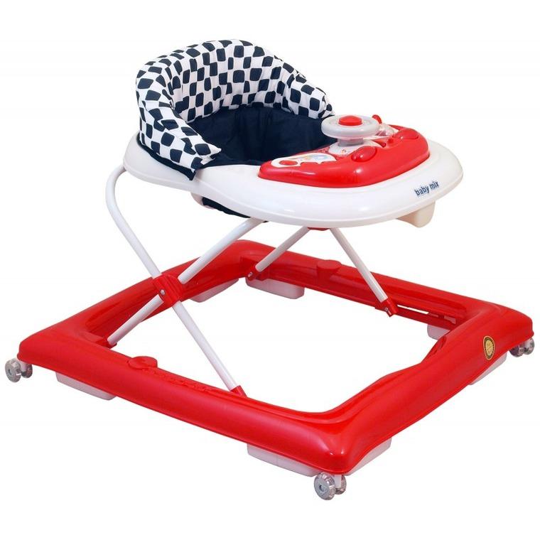 Baby Mix, chodzik, czerwono-biały