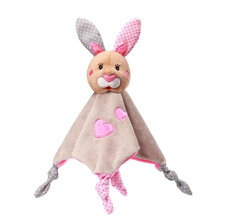 BabyOno, Bunny Julia, przytulanka, kocyk, królik