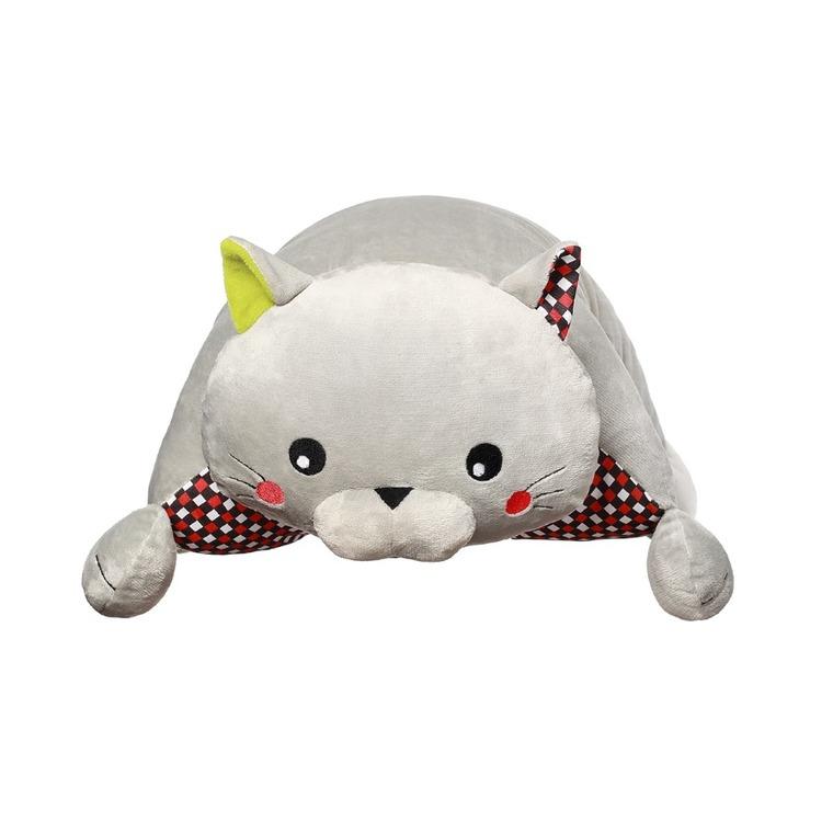 BabyOno, Cat Bruno, poduszka, przytulanka dla niemowląt, kot