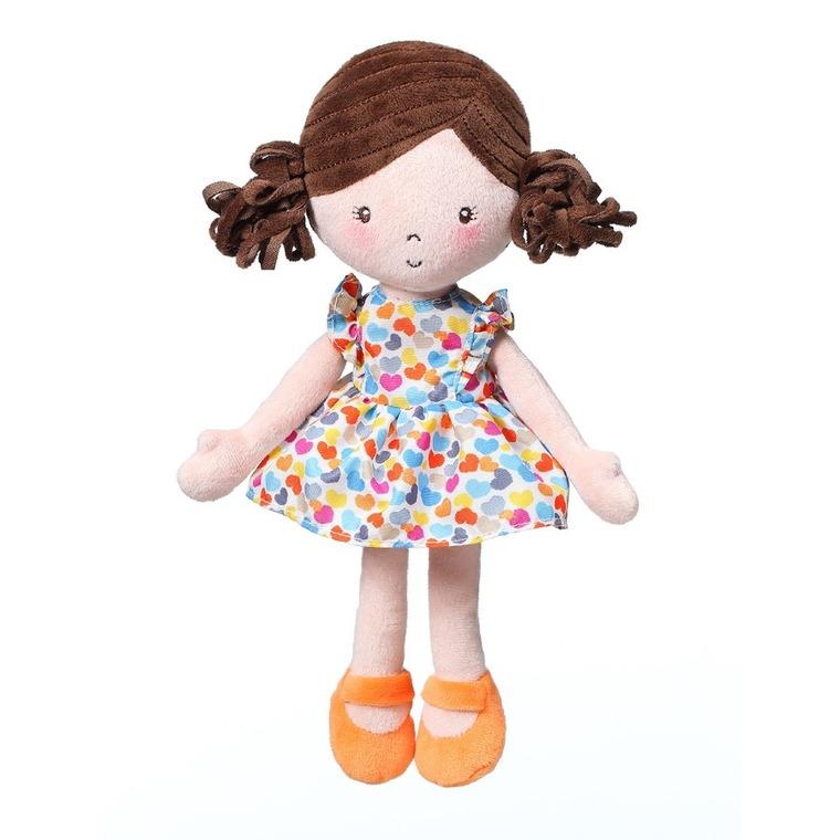 BabyOno, lalka Lena, maskotka, kolorowa
