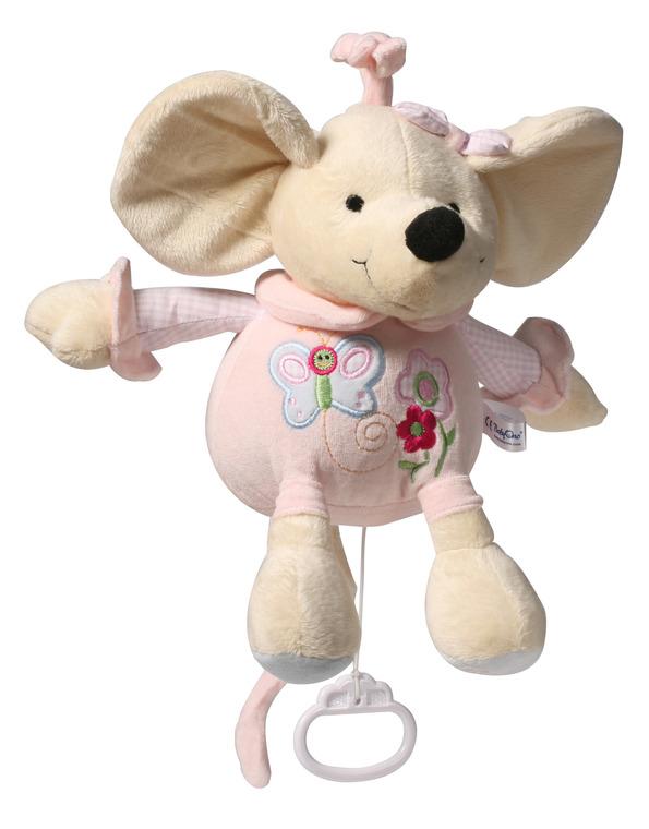 BabyOno, Zabawka niemowlęca z pozytywką, Myszka