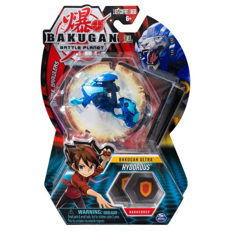 Bakugan Ultra, Hydorous, kula transformująca, Lion Blue