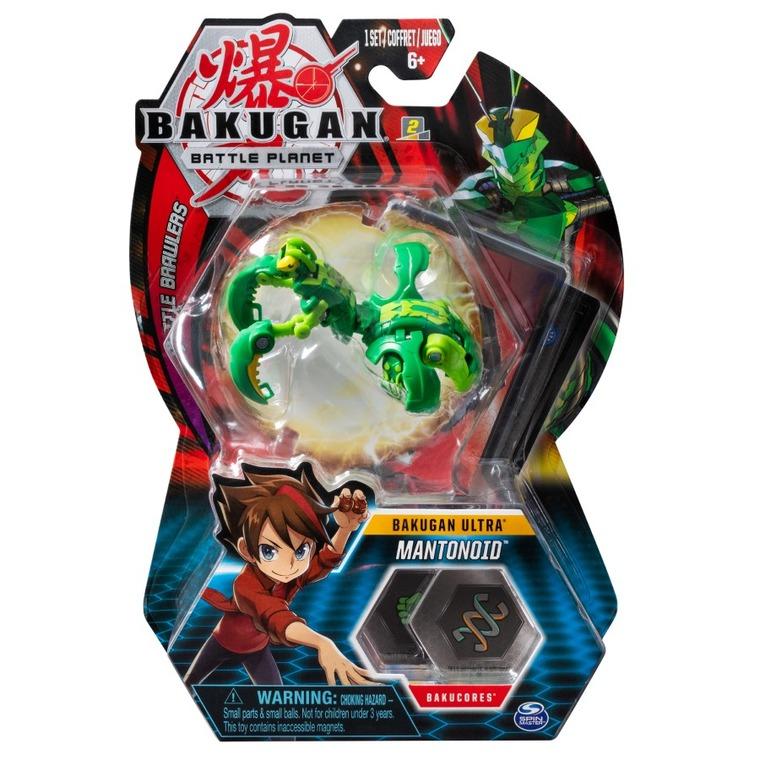 Bakugan Ultra, Mantonoid, kula transformująca, Mantis Green