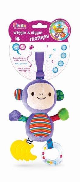 BamBam, Chichoczący przyjaciel, Małpka, zabawka niemowlęca
