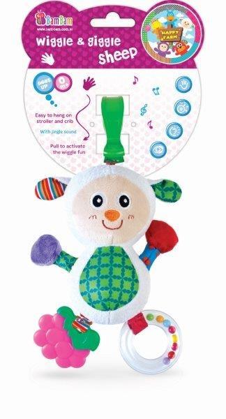 BamBam, Chichoczący przyjaciel, Owieczka, zabawka niemowlęca