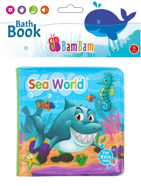 BamBam, Morski świat, książeczka do kąpieli