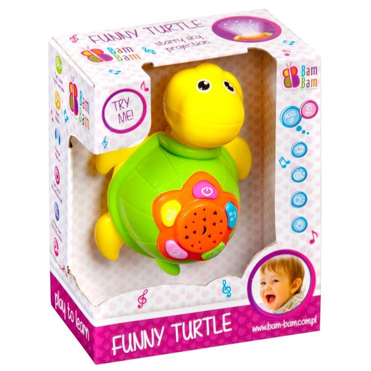 BamBam, zabawny żółw