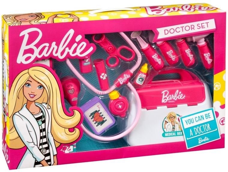 Barbie, mały doktor z walizką, zestaw