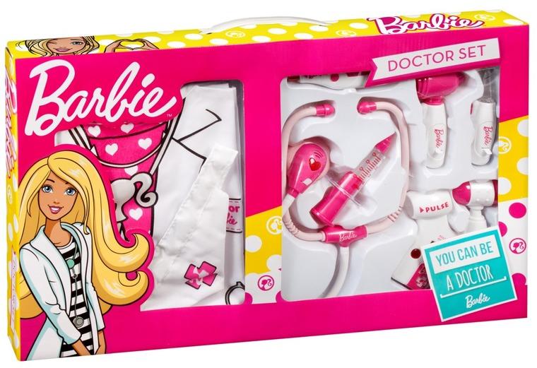 Barbie, mały doktor ze strojem lekarskim, zestaw
