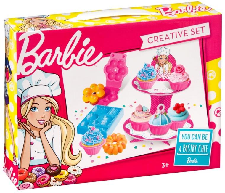 Barbie, masa plastyczna z paterą