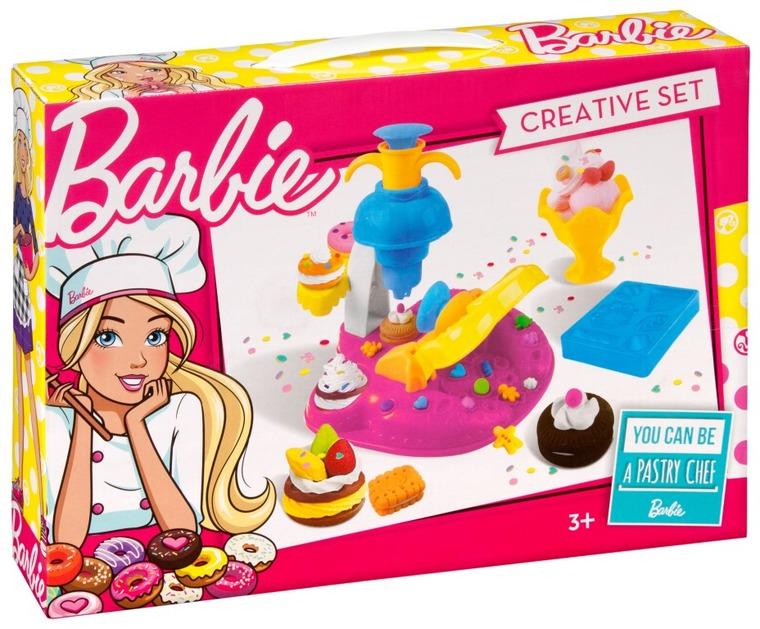 Barbie, masa plastyczna z wyciskarką
