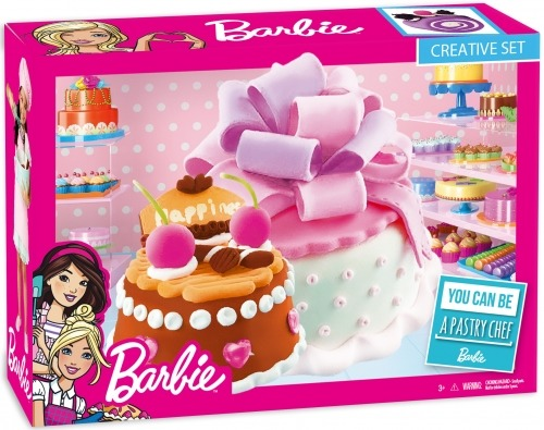 Barbie, masa plastyczna, zestaw