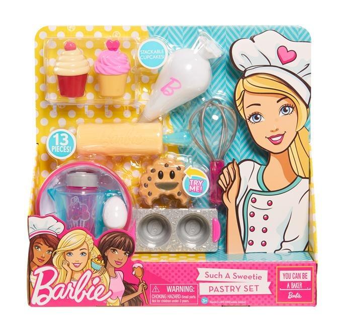 Barbie, Wyroby cukiernicze, zestaw kulinarny