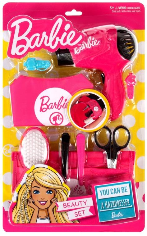 Barbie, zestaw fryzjerski