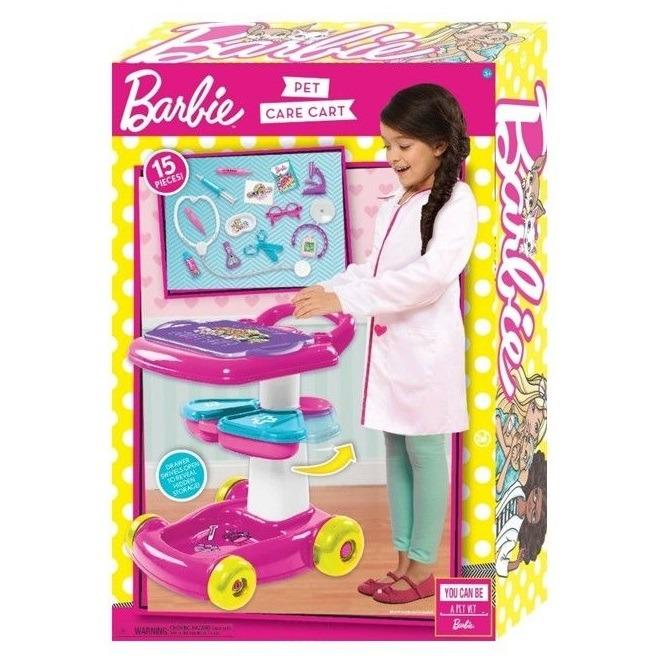 Barbie, zestaw opiekunki zwierząt